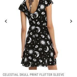 Hot Topic Dresses - Celestial moon sun dress NWOT small medium XL